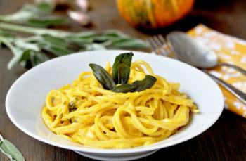 Spaghetti w/Butternut Squash Sauce