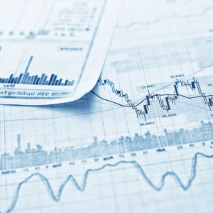financial earnings reports concept